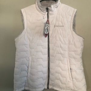 NWT Free Country Reversible Vest -XL